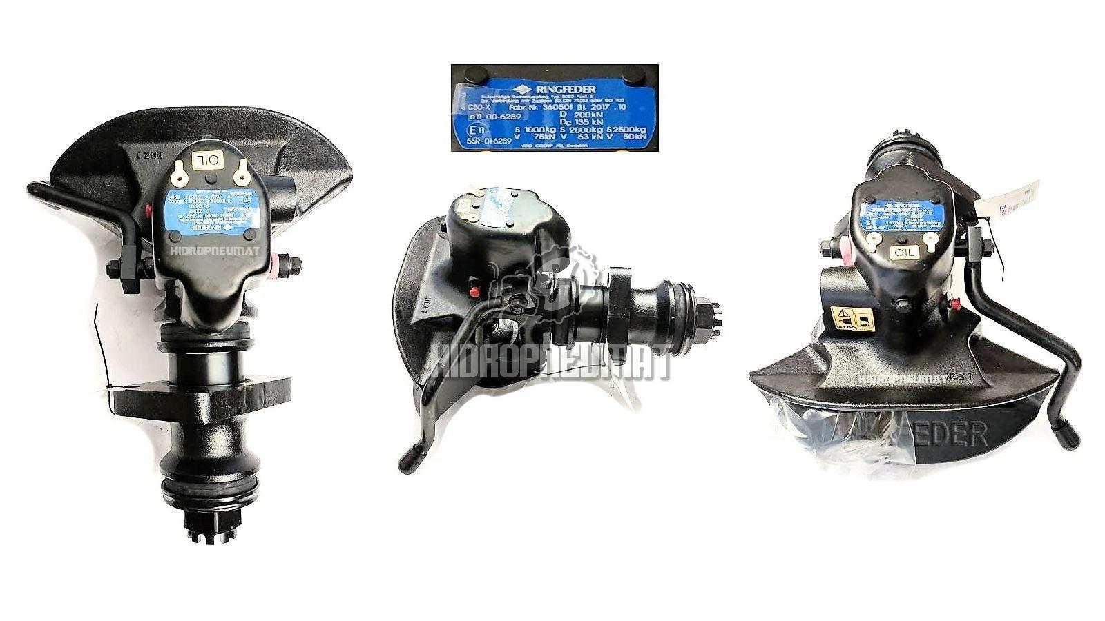 KUKA RINGFEDER FI50 5050A, 160x100 mm